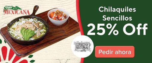 Cosecha Natural Polanco Chilakiles 25% OFF