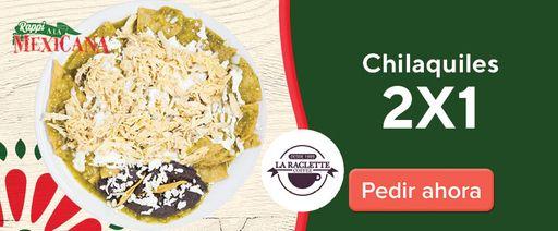 La Raclette Coffee 2x1 Chilaquiles