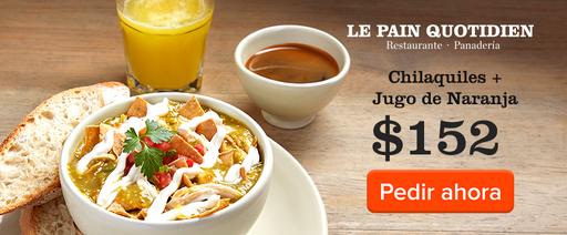 Chilaquiles con Huevo o Pollo + Jugo de Naranja