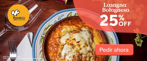 Lasagna Bolognesa 25 % Off