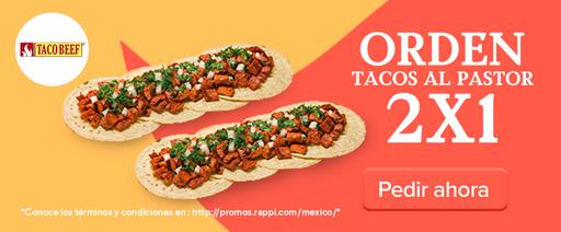 2x1 Orden de Tacos al Pastor