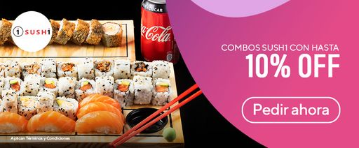 1Sushi - Combos 10% Off