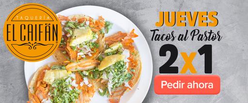 2x1 Tacos al pastr