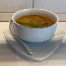 Sopa Misoshiru de Verduras