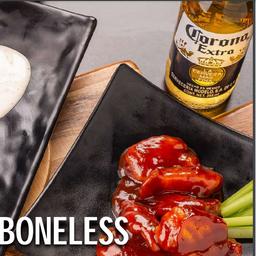 Combo Alitas / Boneless & Beer