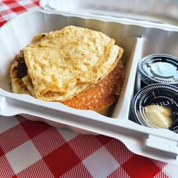 Cajita Mañanita Huevo & Pancake