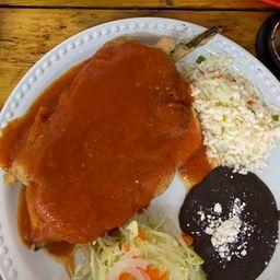 Chile Relleno de Queso Oaxaca