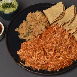 2x1 Tacos de Tinga de Pollo