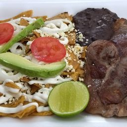 Chilaquiles con Res