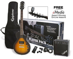 Epiphone Guitarra Eléctrica Les Paul Vintage Sunburst