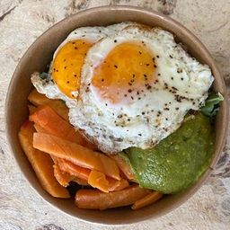 Camote Guacamole Breakfast Bowl