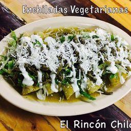 Enchiladas Verdes Veganas
