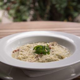 Ravioles de Mozzarela y Espinaca