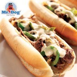 Hot Dog Philly Cheesesteak