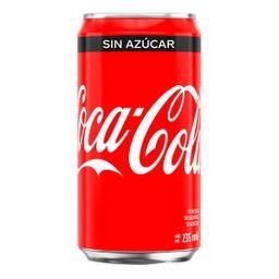 Coca-Cola sin Azucar 235ML