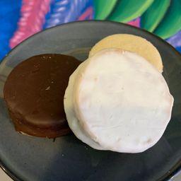 Alfajor de Chocolate Obscuro