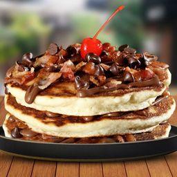 Pancakes de Avellana y Tocino