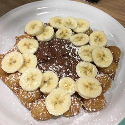 Waffle de Banana