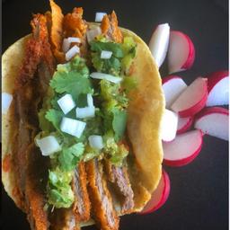 Tacos Fajitas Empanizadas