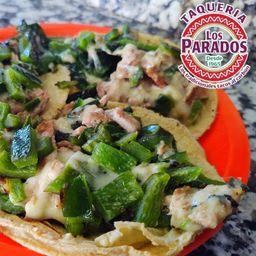 Taco Poblano de Arrachera