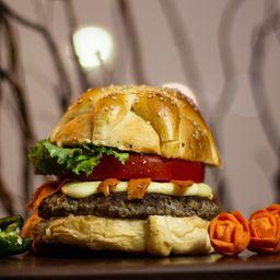 Hamburguesa de ¡Pan de Muerto!