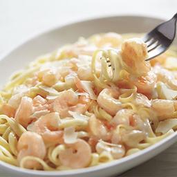 Shrimp Linguini Alfredo