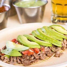 Tacos Bistec Preparado