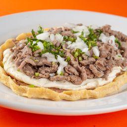 Huarache de Bistec