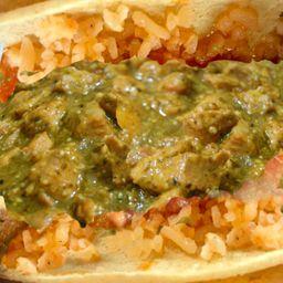 Taco de Cerdo en Salsa Verde