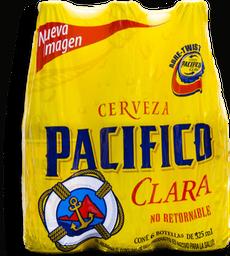 Cerveza Pacífico Clara 325 mL x 6