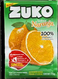 Polvo Soluble Zuko Naranja 15 g