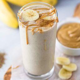 Milkshake de Plátano y Mazapán