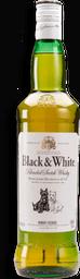Whisky Black & White Scotch Botella 750 mL