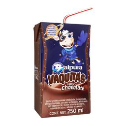 Leche Alpura Vaquitas Chocolate 250 mL