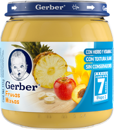Papilla Gerber Etapa 2 Frutas Mixtas 113 g