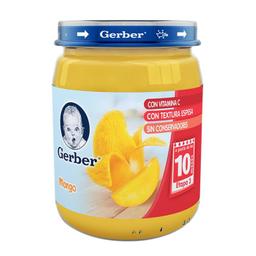 Papilla Gerber Etapa 3 Mango Frasco 170 g
