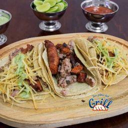 Taco Costilla con Chorizo Arg Individual