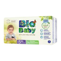 Pañal Bio Baby Talla 5 34 U