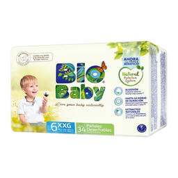 Pañal Bio Baby Talla 6 Eco-Friendly 34 U