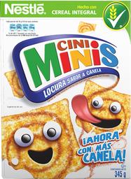 Cereal Cini Minis Integral Canela Explosiva 345 g