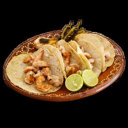 Orden Tacos Camarón