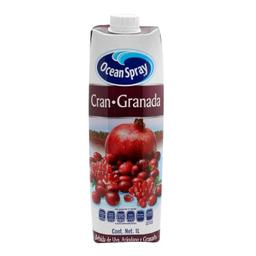 Bebida Ocean Spray Arándano Granada y Uva 1 L