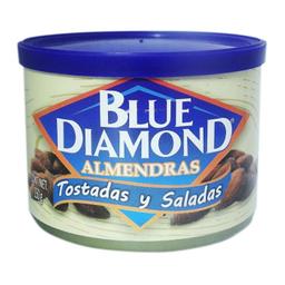 Almendras Blue Diamond Tostadas y Saladas 150 g