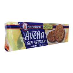 Galletas Voortman de Avena Sin Azúcar 227 g