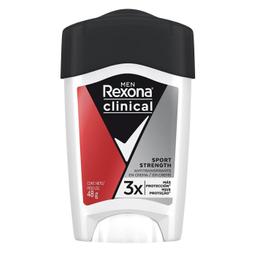 Antitranspirante Rexona Men Clinical Sport Strangth 48 g