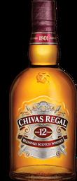 Whisky Chivas Regal 12 Años Botella 750 mL