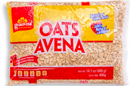 Avena Granvita Natural e Integral 400 g
