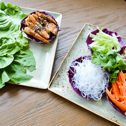 Tacos de Lechuga Estilo Thai
