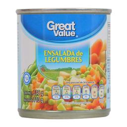 Ensalada Great Value de Legumbres 215 g