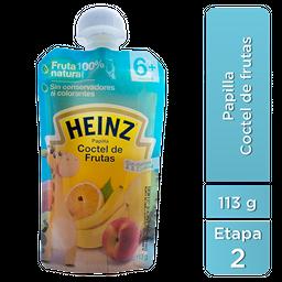Papilla Heinz Coctel de Frutas Etapa 2 113 g